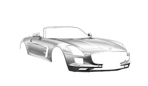 Цвета кузова SLS AMG Roadster (R197)